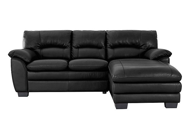 Blaze Leather Corner Chaise  sc 1 st  Furniture Village : chaise sofa leather - Sectionals, Sofas & Couches