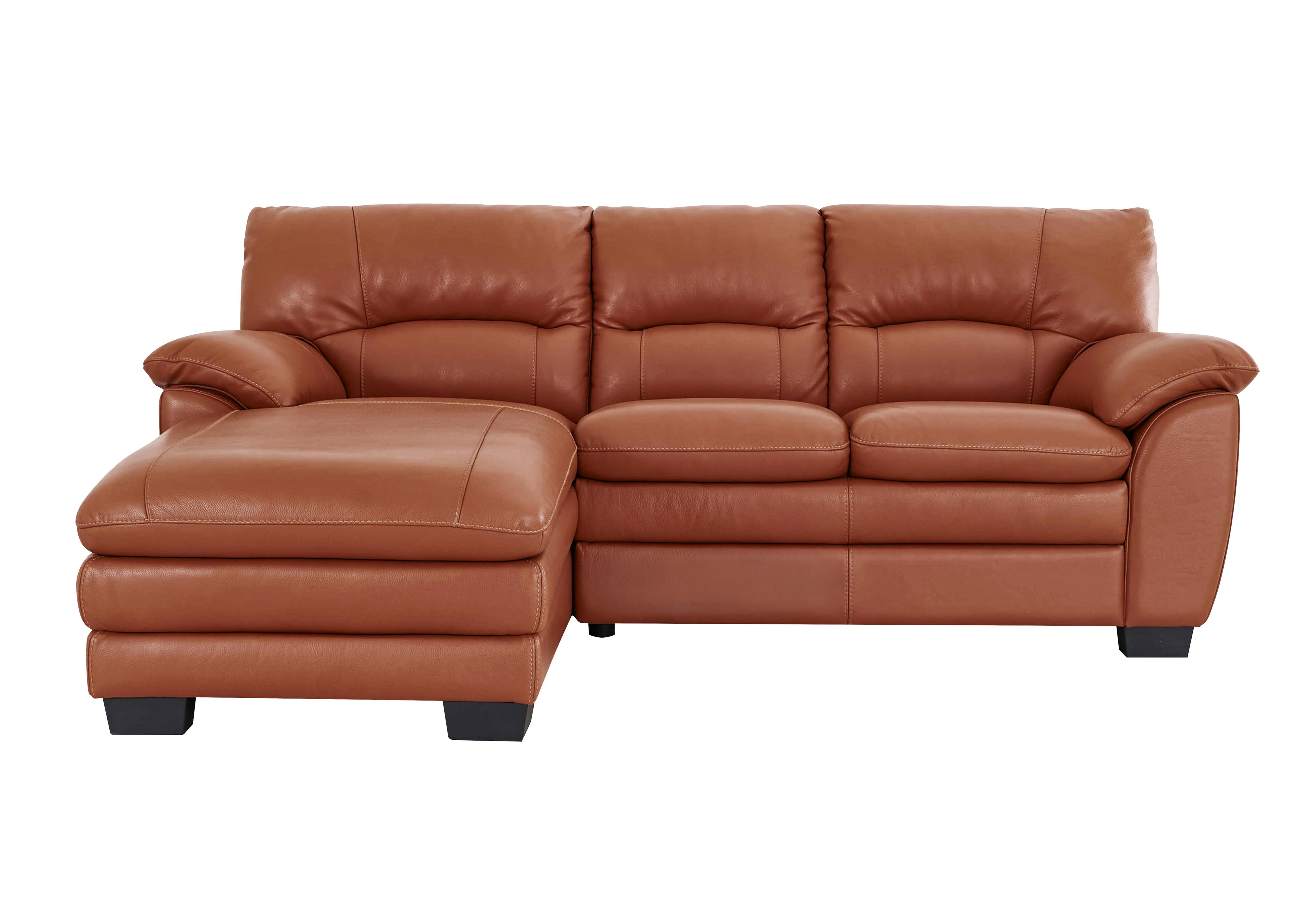 World Of Leather Blaze Leather Corner Chaise