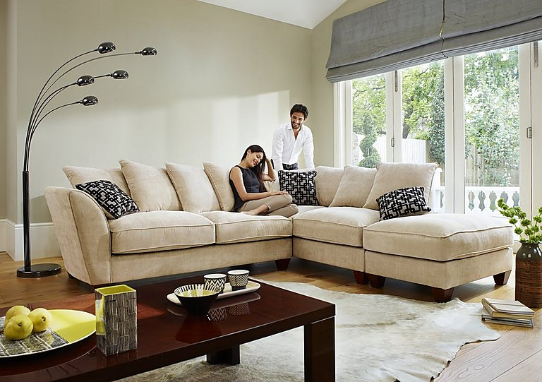 Furniture Village Annalise plain furniture village hennessey sofa inc pouffe in littlehampton