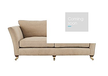 Vantage 3 Seater Fabric Sofa in Claudia Plain Natural-Ant Bras on Furniture Village