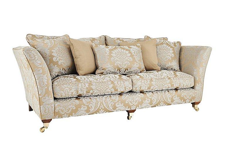 Superior Vantage 4 Seater Fabric Sofa
