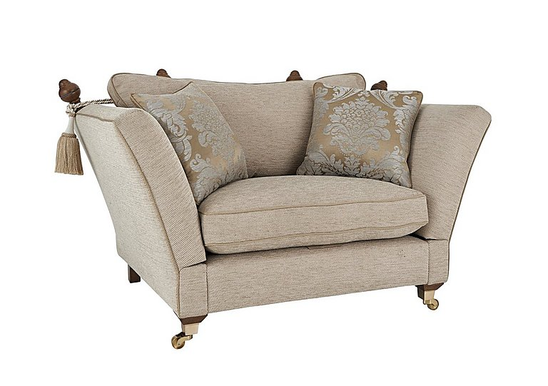 Perfect Vantage Knoll Fabric Snuggler Armchair