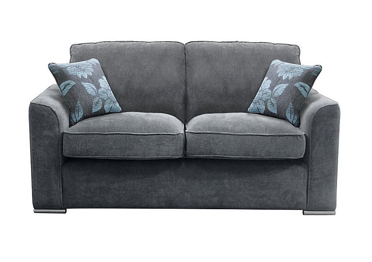 Boardwalk 3 Seater Fabric Sofa in Waffle Steel on Furniture Village