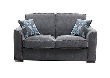 Boardwalk Standard Fabric Sofa Bed in Waffle Steel on Furniture Village