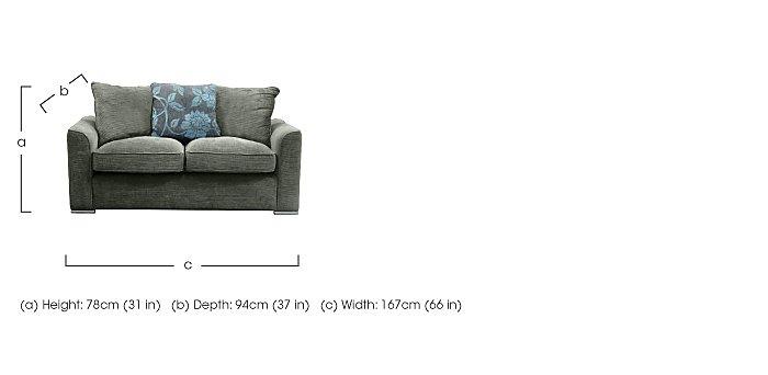 Boardwalk Standard Fabric Sofa Bed in  on Furniture Village