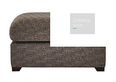 Bailey Fabric Footstool in Alfa Chestnut Dark Feet on Furniture Village