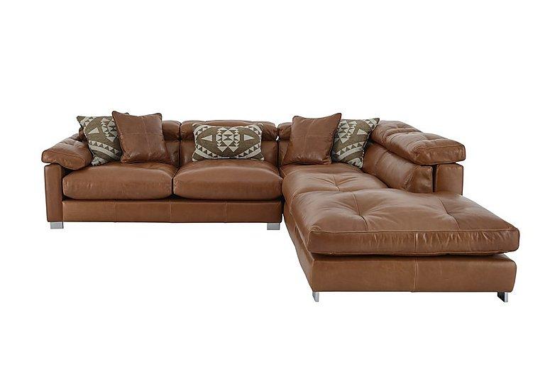 Leather Corner Sofa Set: Fusion Leather Corner Sofa