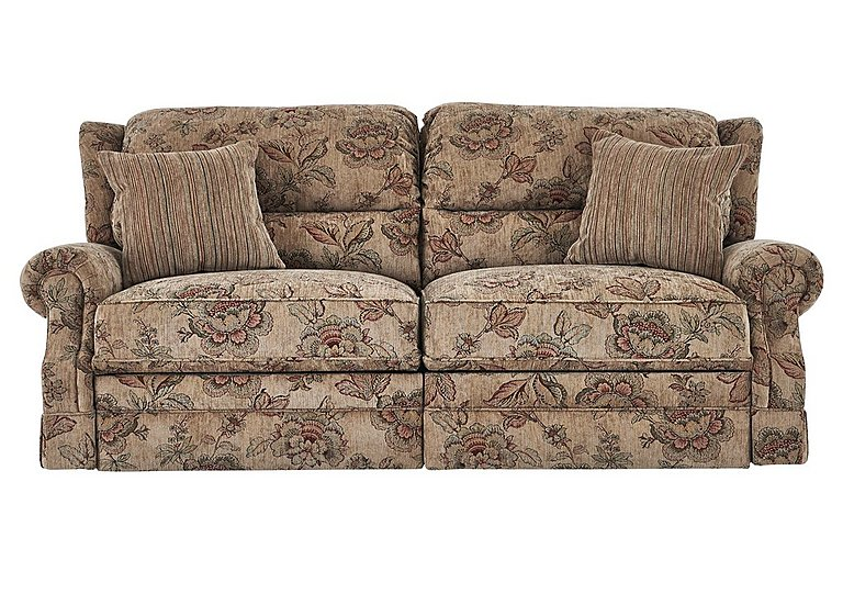 Charter 4 Seater Fabric Recliner Sofa
