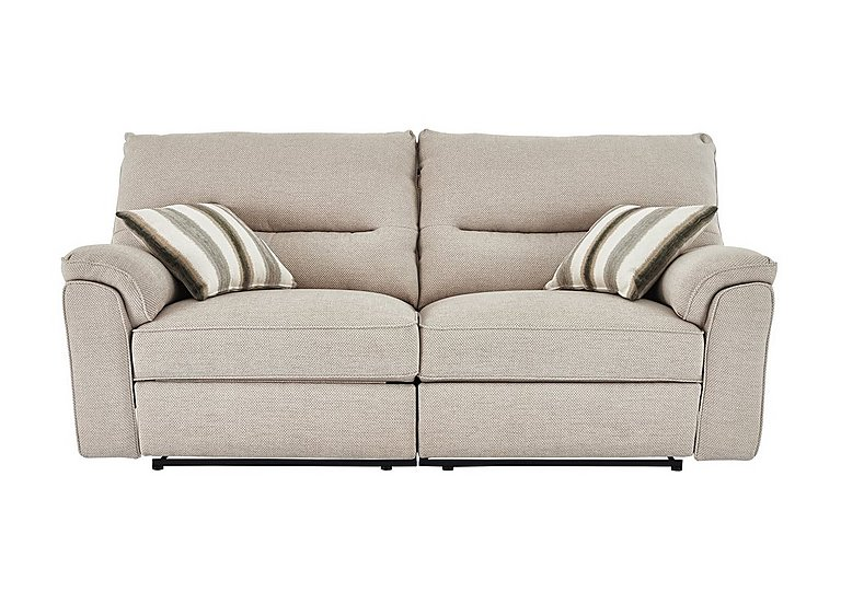 Colorado 4 Seater Fabric Recliner Sofa