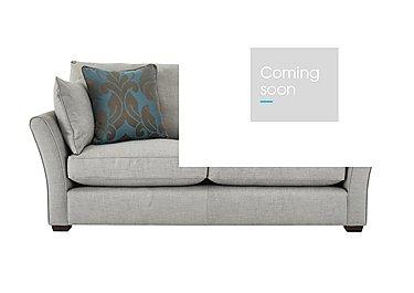 Healey 3 Seater Fabric Sofa in Heatley Slate Dark Feet Col 3 on Furniture Village