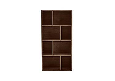 Stack Small Bookcase in Dark Oak on Furniture Village