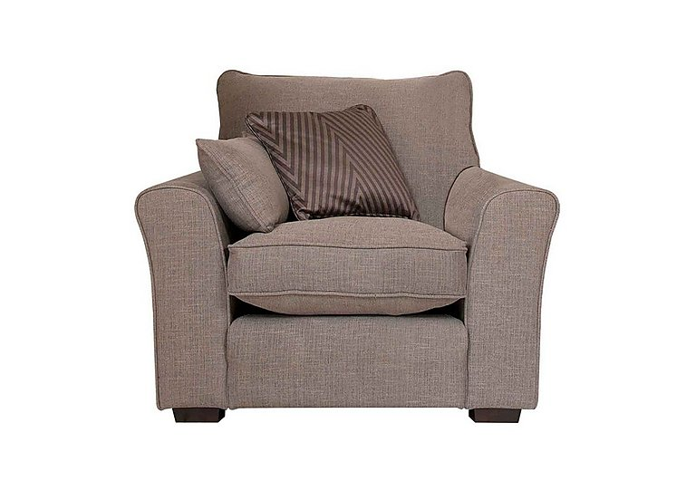 Remus Fabric Armchair in F42614l on Furniture Village