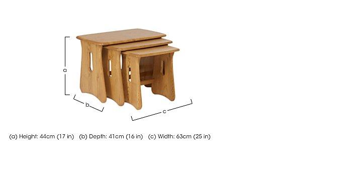Windsor Nest of Tables in  on Furniture Village