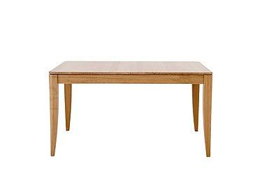 Artisan Medium Extending Dining Table in Oak Clear Matt Fiinsh on Furniture Village
