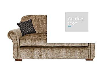 Luxor 2 Seater Fabric Sofa in Elite Mink - Dark Feet on Furniture Village