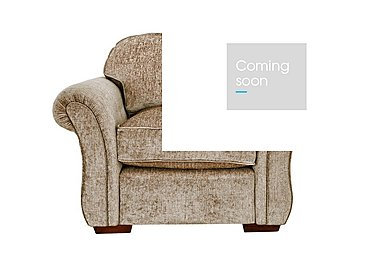 Luxor Fabric Armchair in Elite Mink - Dark Feet on Furniture Village