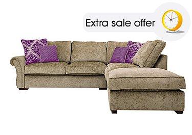 Silver corner sofas chaise end sofas furniture village for Furniture village sale