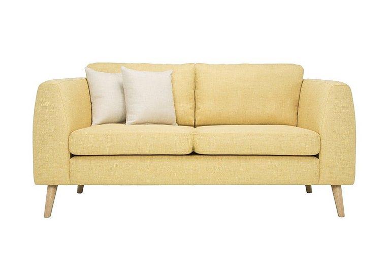 Bjorn 2 Seater Fabric Sofa in Sun on Furniture Village