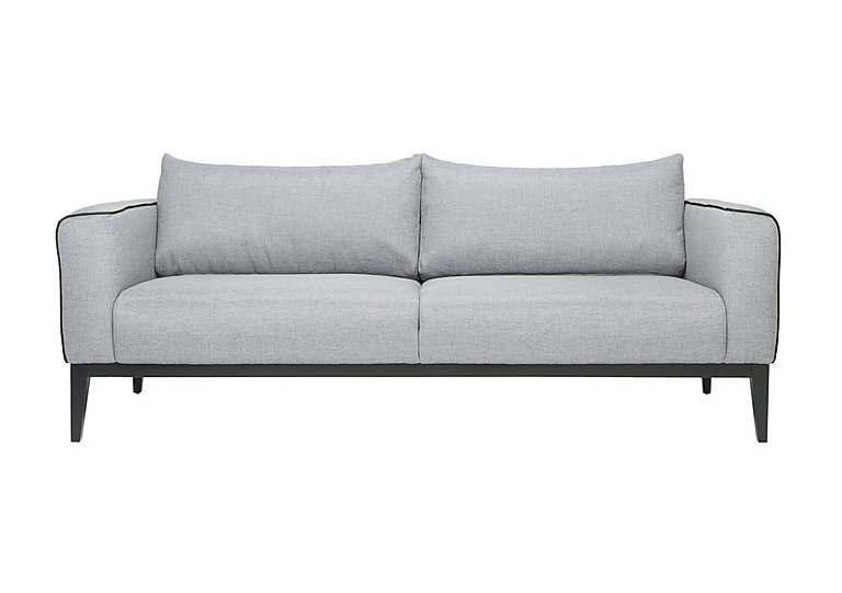 Lucas 3 Seater Fabric Sofa in Vence 276 Grey on Furniture Village