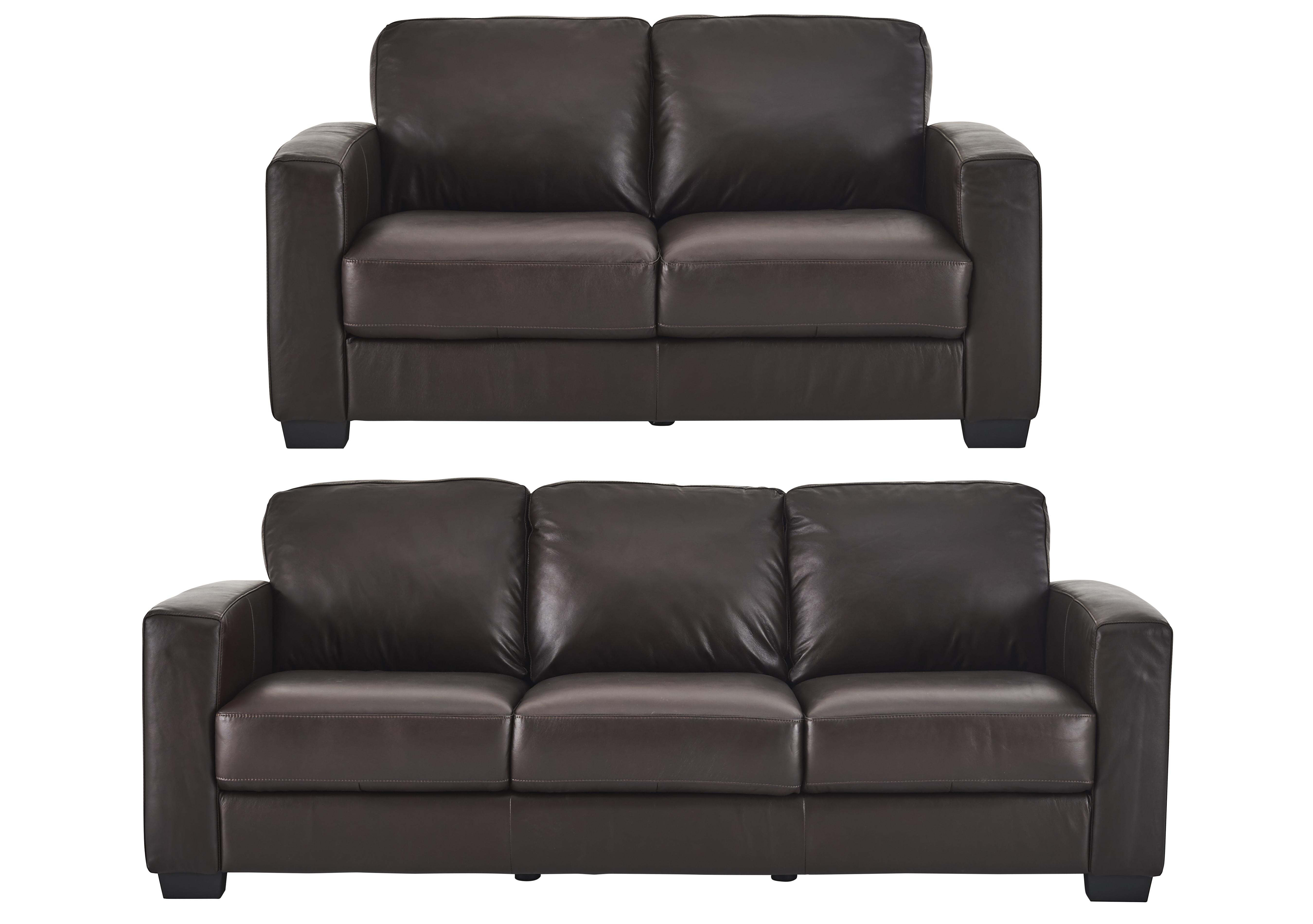 Picture of: Dante 3 2 Seater Leather Sofas Furniture Village