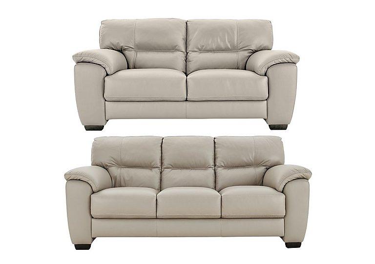 Shades 3 2 Seater Leather Sofas Multi Buy Saver Set World Of