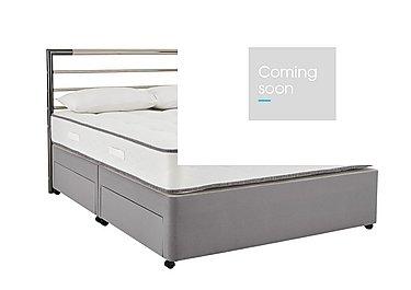 My Super Comfort Divan Set in 5928 Slate Grey on Furniture Village