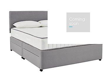 My Super Pocket Divan Set in 5928 Slate Grey on Furniture Village
