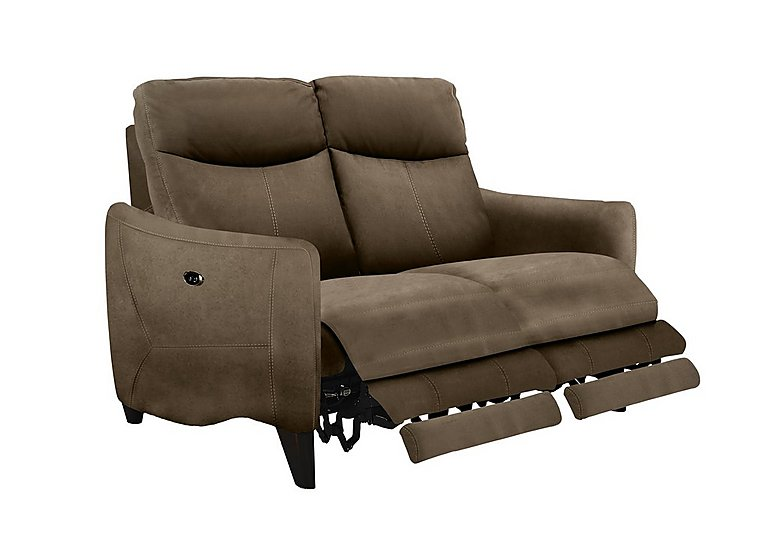Attrayant Compact Collection Petit 2 Seater Fabric Recliner Sofa