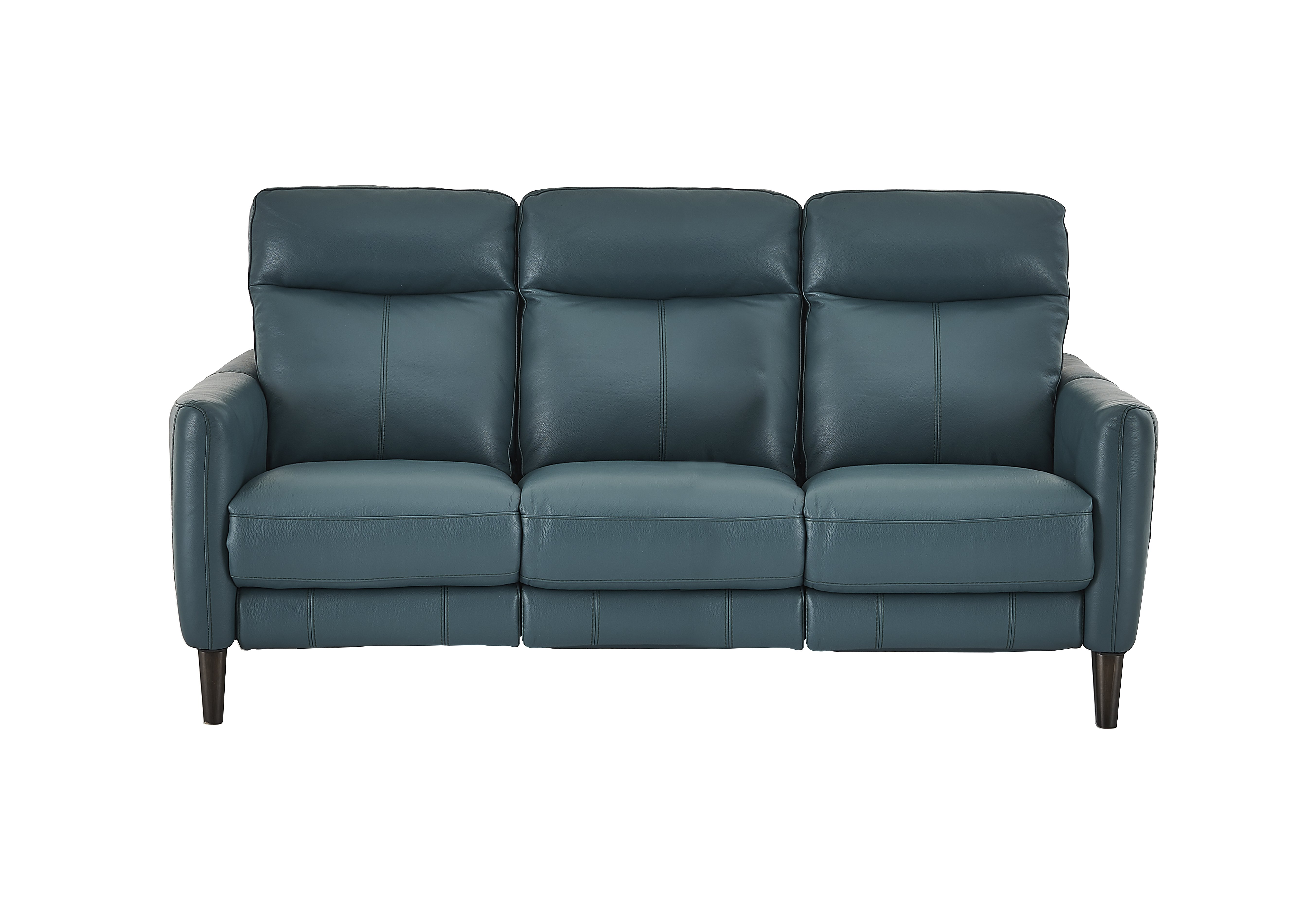 pact Collection Petit 3 Seater Leather Recliner Sofa