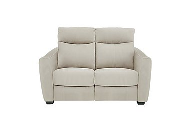 Compact Collection Midi 2 Seater Fabric Recliner Sofa in Bfa-Blj-R20 Bisque on Furniture Village
