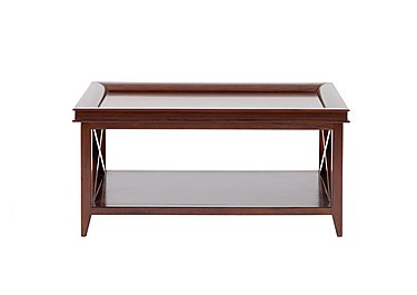 Byron Coffee Table in Mahogany on Furniture Village