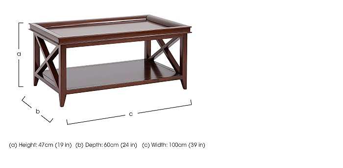 Byron Coffee Table in  on Furniture Village
