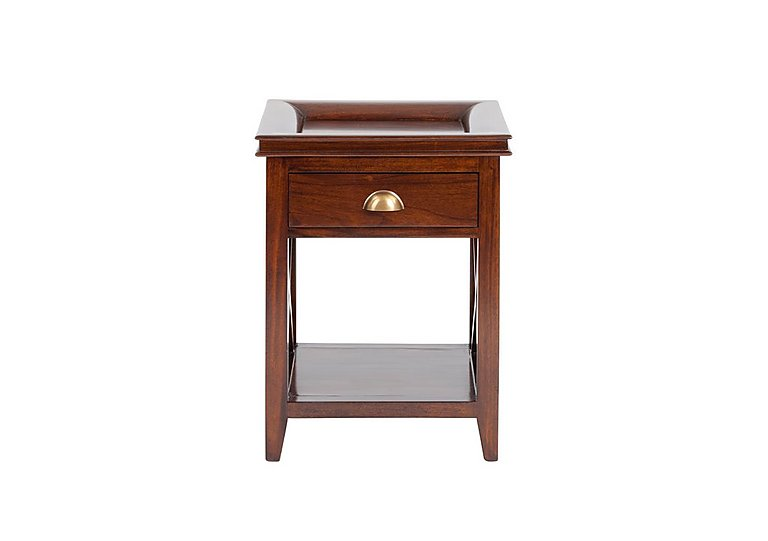 Byron Lamp Table in Mahogany on Furniture Village