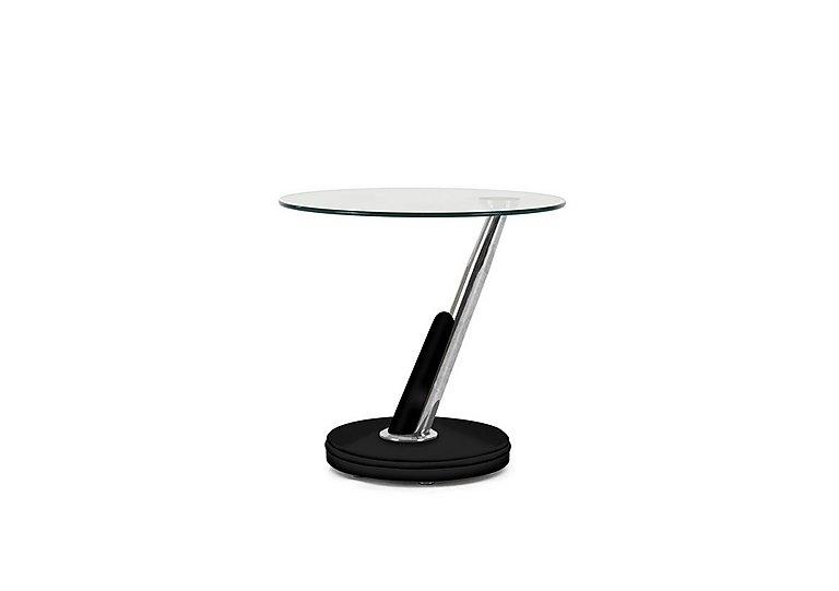 Twist Lamp Table in Black on Furniture Village