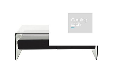 Vidrio Coffee Table in Black on Furniture Village