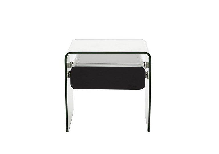Vidrio Lamp Table in Black on Furniture Village