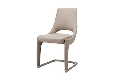 Piura Jimmy Dining Chair in White on Furniture Village