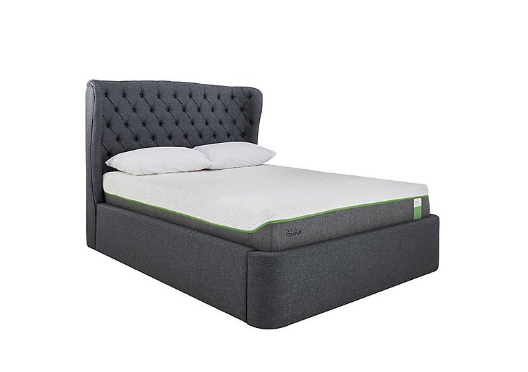 Holcot Ottoman Bed Frame Tempur 174 Furniture Village
