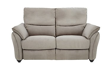 Salamander 2 Seater Fabric Recliner Sofa in Bfa-Blj-R946 Silver Grey on Furniture Village