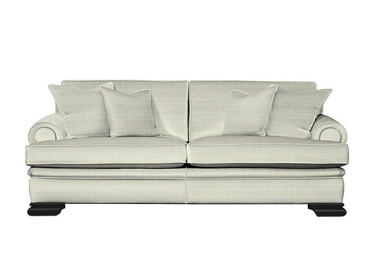 Bardot 4 Seater Fabric Sofa in Dolce Magnesium on Furniture Village