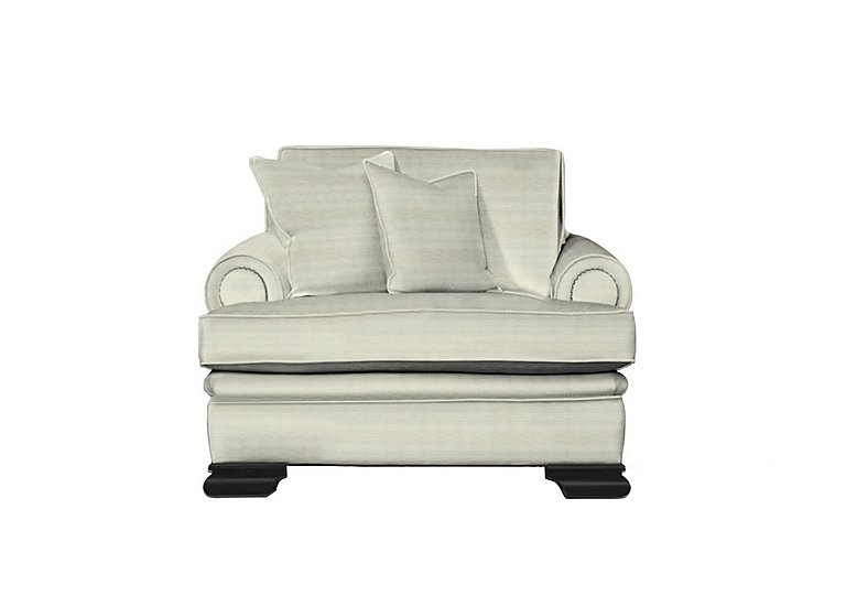 Bardot Fabric Armchair in Dolce Magnesium on Furniture Village