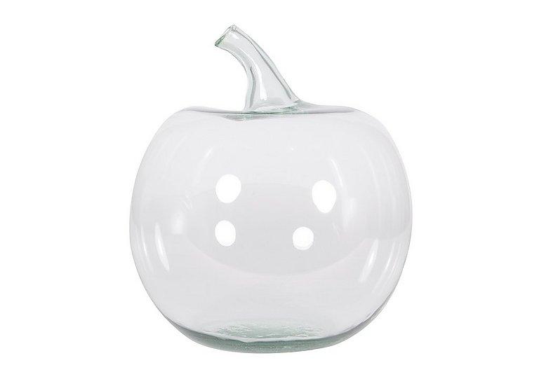 Apple Vase in Glass Vase on Furniture Village