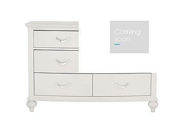 Annecy 6 Drawer Wide Chest in Soft Grey on Furniture Village