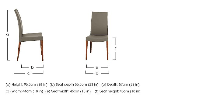 Smart Pair of Dining Chairs in  on Furniture Village