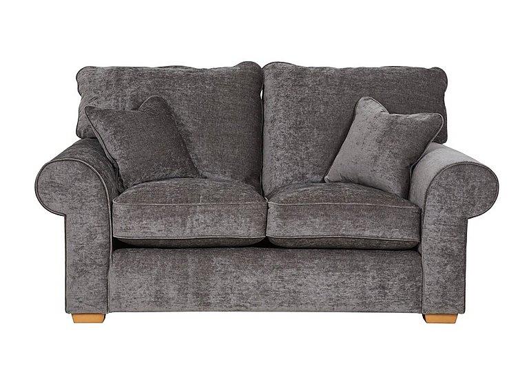Portobello 2 Seater Fabric Sofa in Shimmer Platinum on Furniture Village