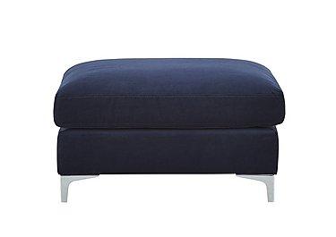 Sofia Fabric Footstool in 11 Bellagio Azure on Furniture Village