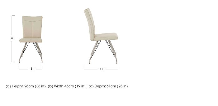 Aline Dining Chair in  on Furniture Village