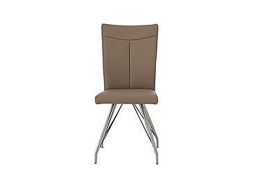 Aline Dining Chair in Taupe on Furniture Village