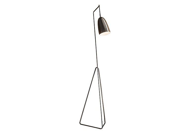 Vallen Floor Lamp in Chrome on Furniture Village