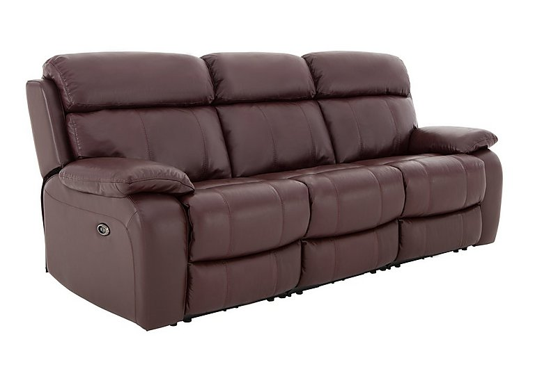 Moreno 3 Seater Leather Recliner Sofa